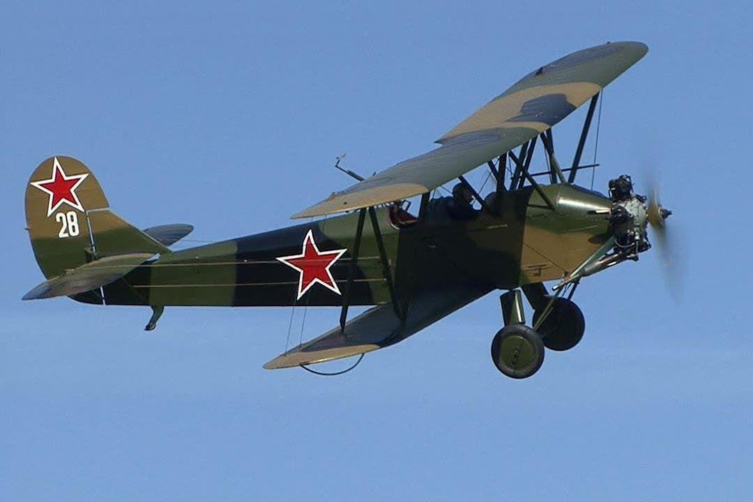 صورة لطائرة من نوع بوليكاربوف بو 2