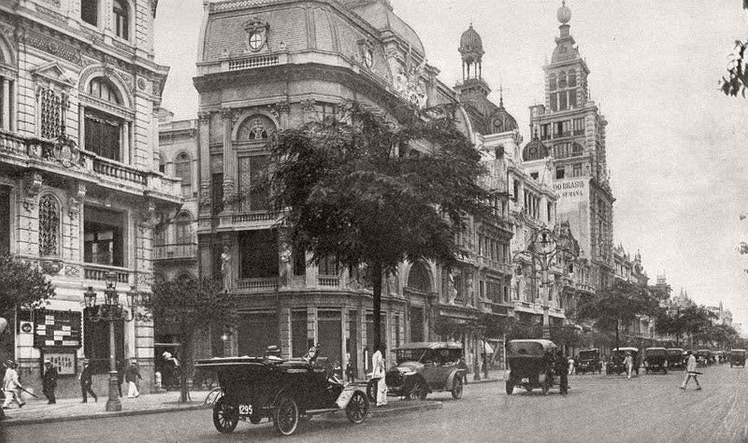 ريو دي جانيرو عام 1900