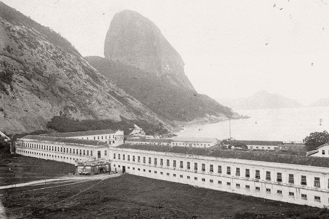 الأكاديمية العسكرية بريو دي جانيرو عام 1890