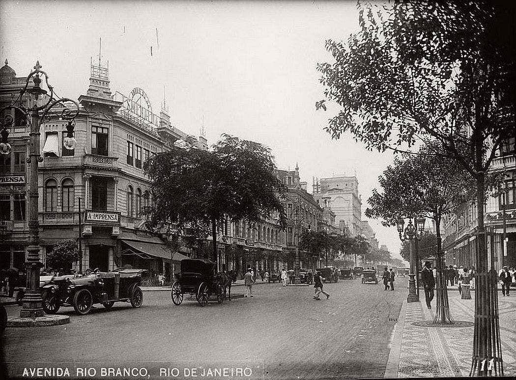 ريو دي جانيرو عام 1919