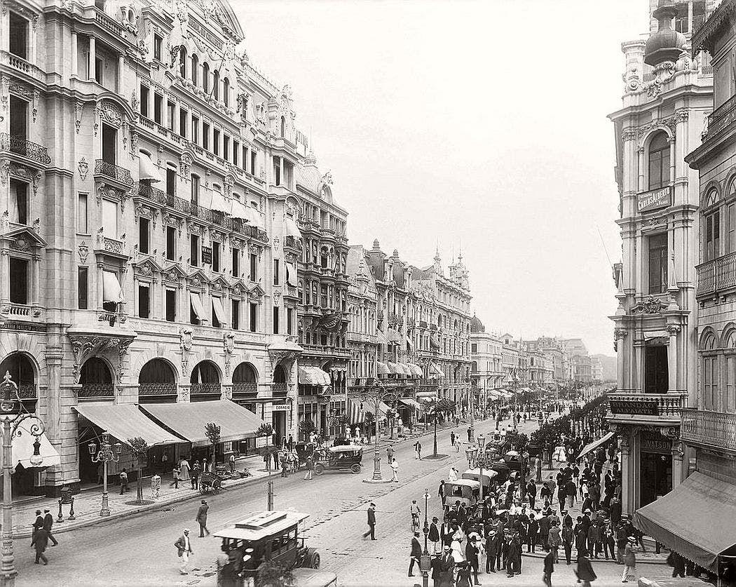 ريو دي جانيرو عام 1906