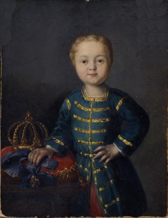 صورة للطفل إيفان السادس