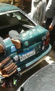 مصر.. متهم باغتصاب ابنته يقفز من الطابق الرابع من مبنى المحكمة (صور)