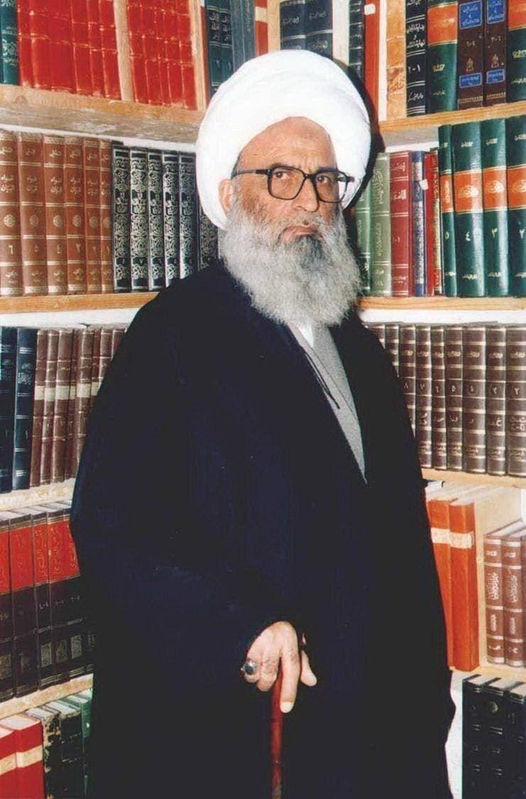 المرجع الديني الشيخ بشير النجفي