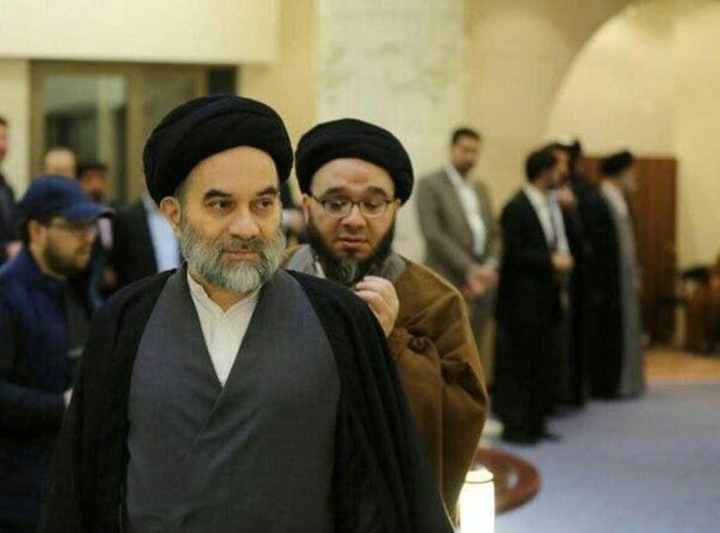 السيد محمد رضا السيستاني والسيد محمد باقر السيستاني