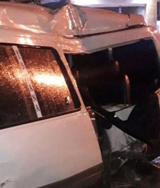 4 جرحى بحادث سير على أوتوستراد الفرزل-زحلة