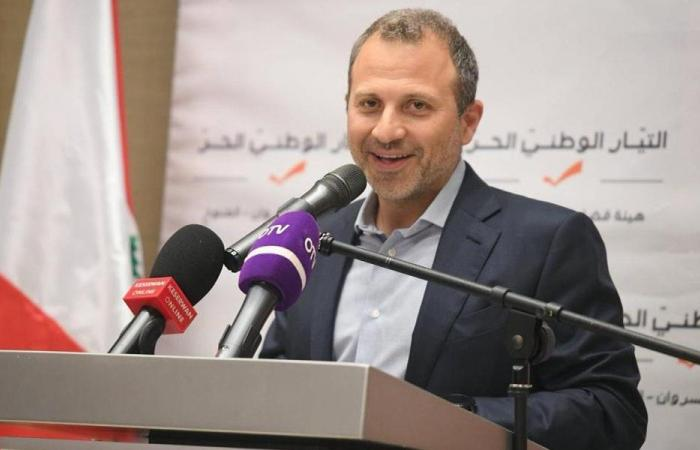 باسيل: لزيادة الضرائب على اللبنانيين الراغبين في السياحة بالخارج