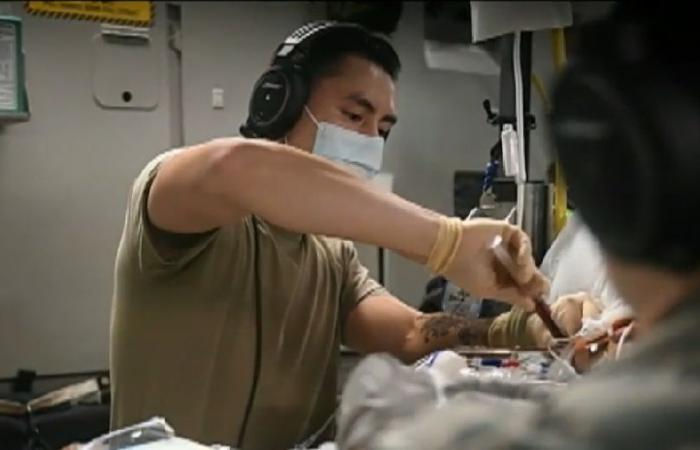 طائرة حلقت 19 ساعة بلا توقف لنقل وإنقاذ جندي أميركي