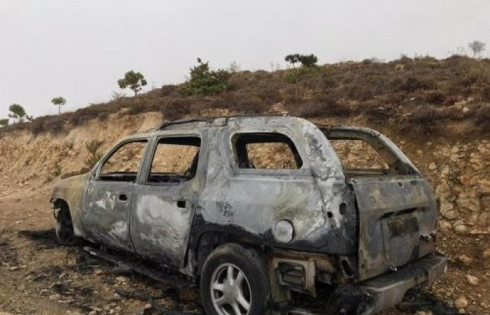 بعد العثور على جثة داخل سيارة محترقة في مرج حمانا... هذا ما كشفته التحقيقات حتى الآن