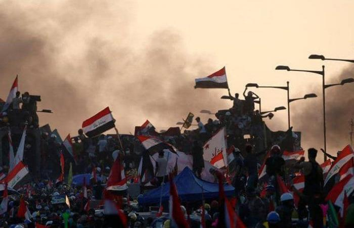 10 قتلى في تظاهرات العراق