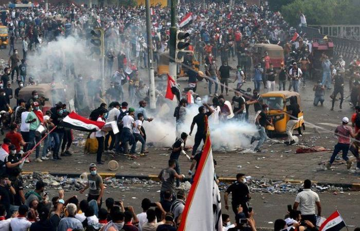 الإفراج عن 2626 متظاهراً في العراق