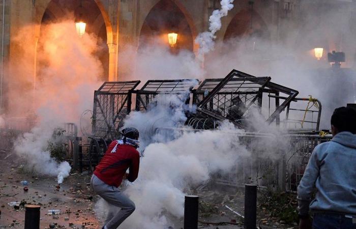 «القبس» تكشف ما حصل ليلة التكسير وسط بيروت