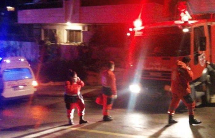 حريق داخل منزل في الشرحبيل-صيدا