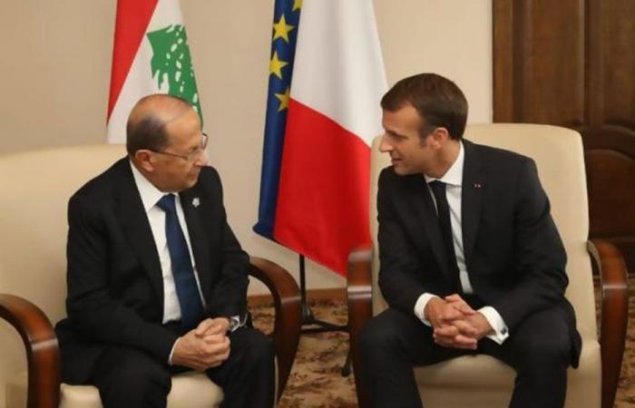 ماكرون اتصل بعون: متمسكون باستقرار لبنان