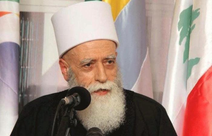 شيخ العقل مستذكرا الحريري: حمل في حياته قضية قيامة لبنان