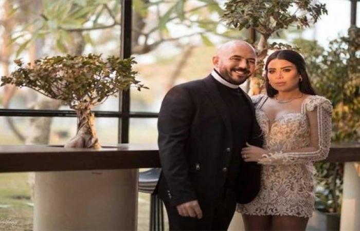 فى عيد الحب زوجة محمود العسيلى توجه رسالة رومانسية له