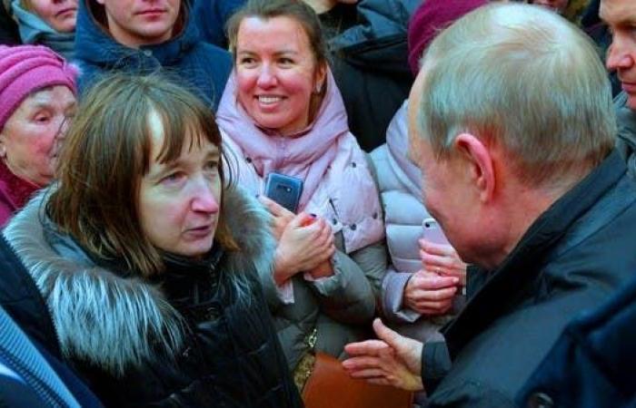 شاهد امرأة تسأل بوتين: هل يمكنك العيش بـ 170 دولارا ؟
