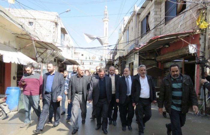 وفد من حماس في عين الحلوة: الوحدة الوطنية مدخل لمواجهة صفقة القرن