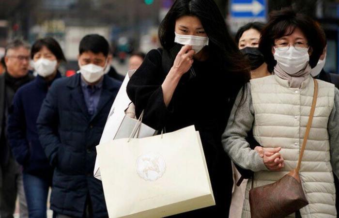 """104 إصابات جديدة بـ""""كورونا """" في كوريا الجنوبية"""
