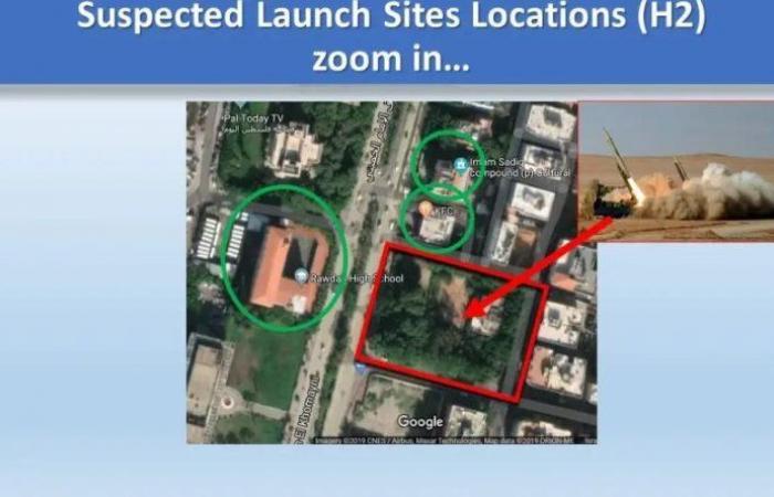 """تقرير إسرائيلي عن مواقع صواريخ """"الحزب"""": قرب المستشفيات والمدارس!"""