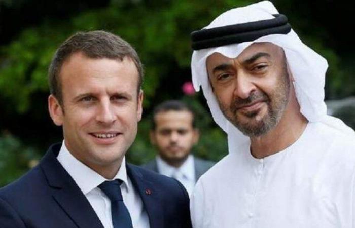 قضايا المنطقة العربية بين ماكرون وآل نهيان