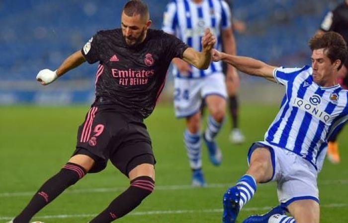 ريال مدريد يتعادل مع سوسييداد في أولى مبارياته الدورية