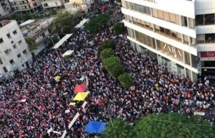 ساحة إيليا في صيدا: أوجيرو اختارتها للثورة