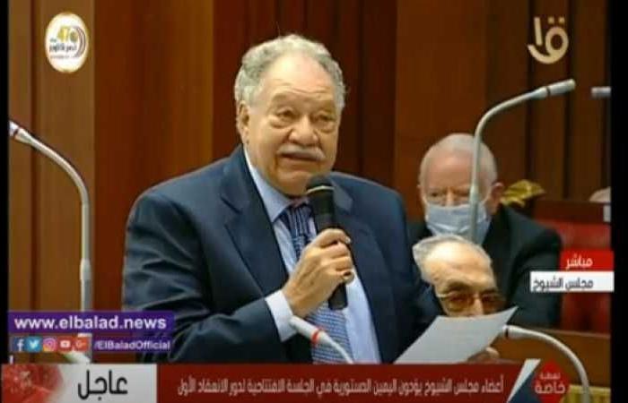 الفنان يحيى الفخراني نائبًا لمجلس الشيوخ