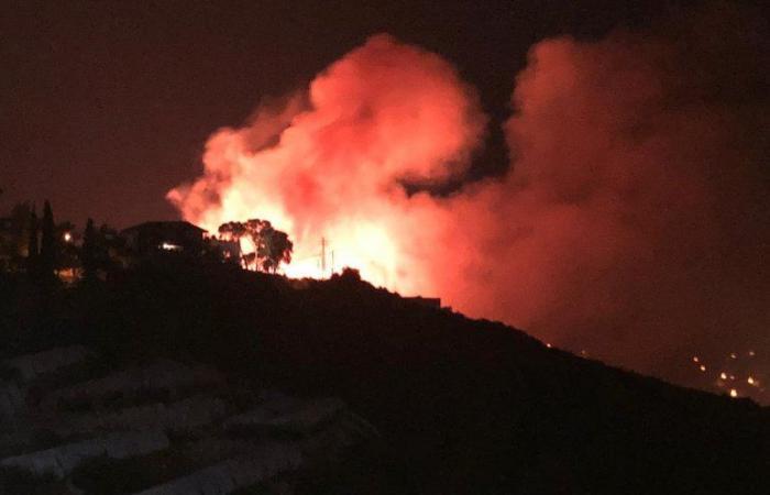 حريق كبير في جبيل ومناشدة من الأهالي (صور)