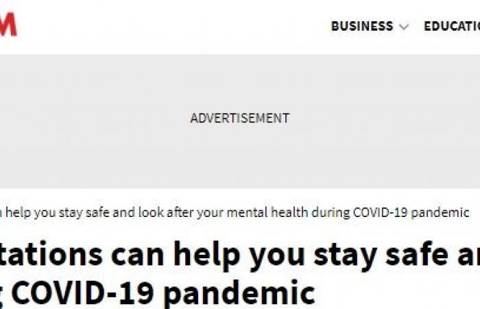 4 طرق للتخلص من القلق والاكتئاب الناتج عن تفشى وباء كورونا