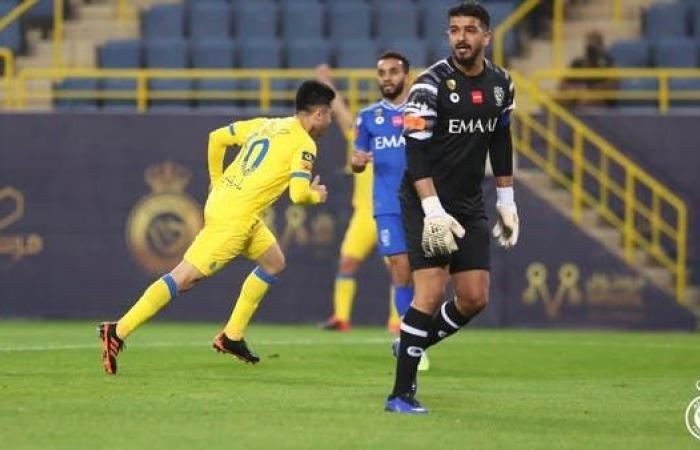 """""""بيتي"""" يحسم ديربي الرياض لمصلحة النصر في 21 دقيقة"""