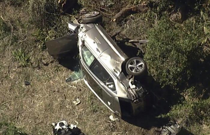بالصور.. تعرض نجم الغولف الأميركي تايغر وودز لحادث خطير