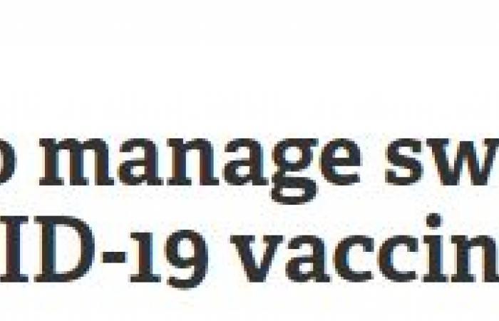دراسة أمريكية: تضخم الغدد الليمفاوية فى الإبط رد فعل طبيعى بعد تطعيم كورونا