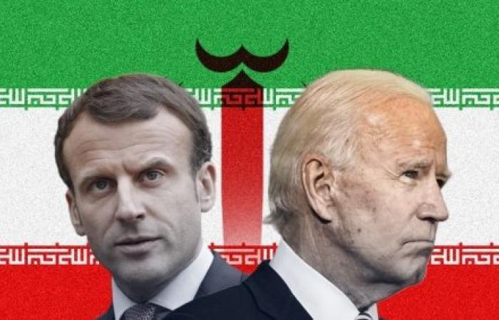 """إيران لـ""""ماكرون"""": نتكلّم عن لبنان مع بايدن وليس مَعك"""