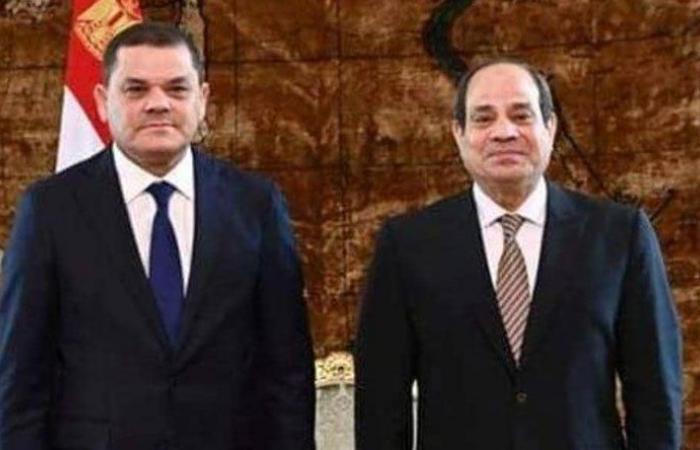 الدبيبة: أمن مصر المائي جزء من الأمن القومي الليبي