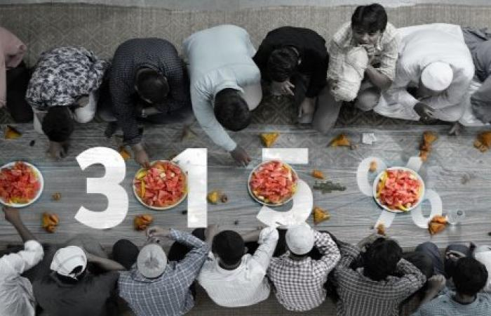 """فطور رمضانيّ """"عادي"""" كلفته 315 % من الحدّ الأدنى للأجور"""