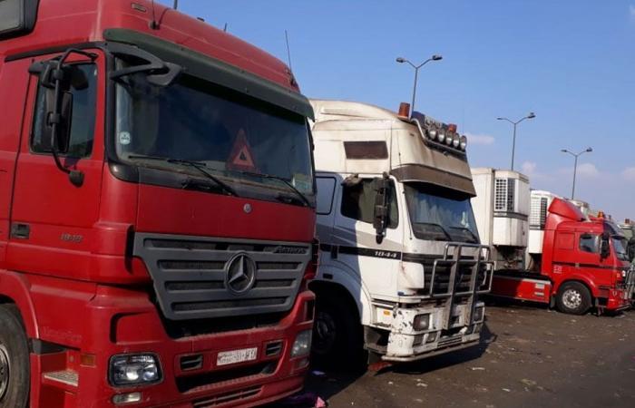 توقيف شاحنة محملة بالحليب في حلبا… وهذا ما حصل!