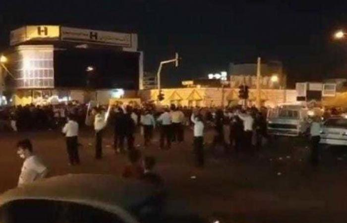 إيران تعتقل متظاهري الأحواز وتنقلهم لجهات مجهولة