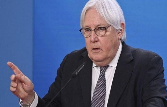 غريفيث: الشعب الأفغاني يواجه انهياراً تاماً للبلاد