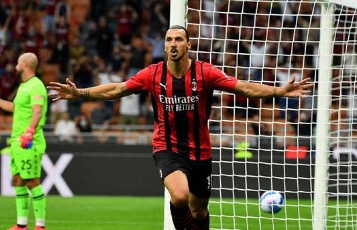 ميلان يفقد إبراهيموفيتش أمام ليفربول
