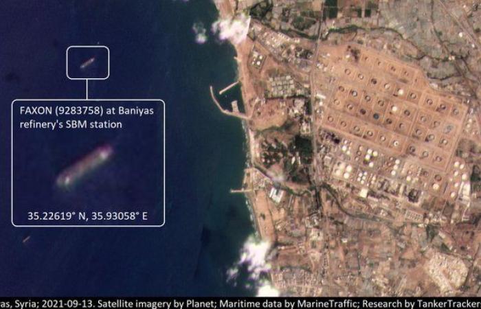 محروقات نصرالله في بانياس والحمولة تتطلب 1310 شاحنات