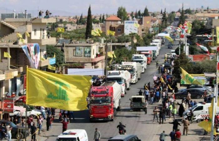 المازوت الإيراني.. دفعة ثانية من الصهاريج تعبر إلى لبنان