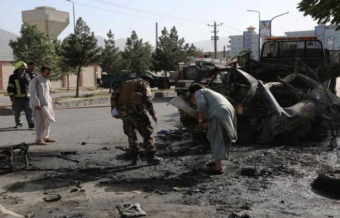 قتلى وجرحى في 3 انفجارات استهدف سيارات تابعة لطالبان