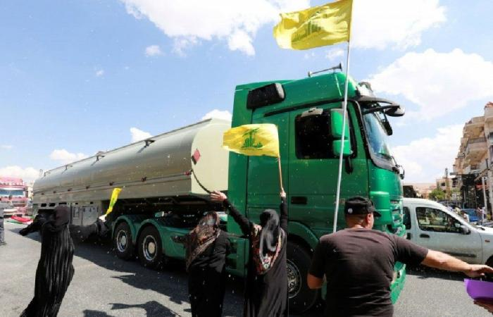 المازوت الإيراني… دفعة جديدة من الصهاريج تعبر الى لبنان