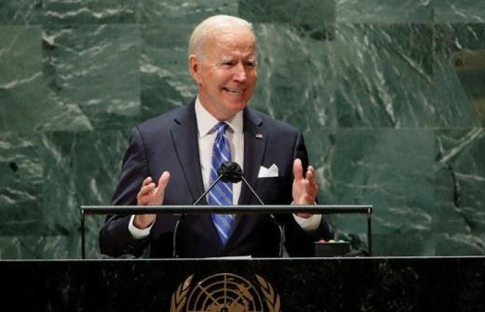 بايدن: أميركا ستضاعف جهودها المالية الدولية لمكافحة التغير المناخي