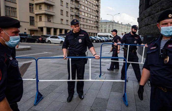 توقيف 14 إرهابياً في روسيا