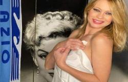 الممثلة آنا فالشي بدون ملابس لها بعد فوز لاتسيو على روما